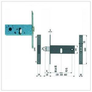 serratura Omec 390-790-890