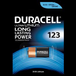 Pila Duracell 123