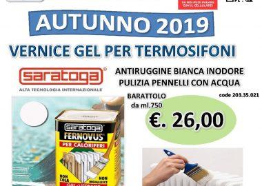 2019 10 ottobre offerta FERNOVUS CALOR